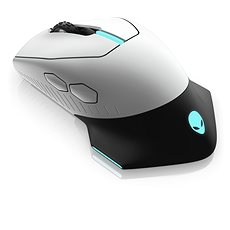 Dell Alienwarenbsp Wired/Wirelessnbsp AW610M Gaming Lunar Light