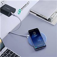 Aukey LC-Q4 Blue Qi Wireless Fast Charger