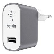 Belkin USB 230V MIXIT ^ Metallic sivá