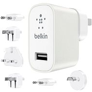 Belkin USB 230V MIXIT ^ Metallic Travel kit biela
