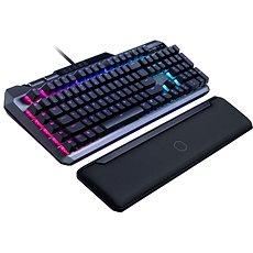 Cooler Master MK850, herná klávesnica, RED Switch, RGB LED, US layout, čierna