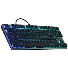Cooler Master SK630, herná klávesnica, RED Switch, RGB LED, US layout, čierna