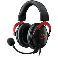 HyperX Cloud II Headset červené
