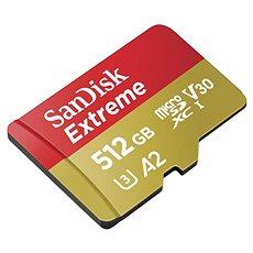 SanDisk MicroSDXC 512GB Extreme A2 UHS-I (V30) U3