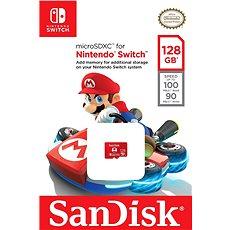 SanDisk MicroSDXC 128GB Nintendo Switch A1 UHS-I (V30) U3