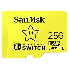 Sandisk microSDXC 256GB Nintendo Switch A1 V30 UHS-1 U3