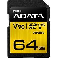 ADATA Premier ONE SDXC 64 GB UHS-II U3 Class 10