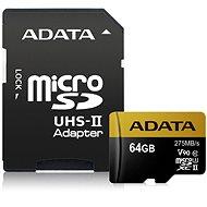 ADATA Premier ONE Micro SDXC 64GB USH-II U3 ??Class 10