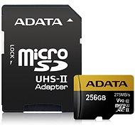 ADATA Premier ONE Micro SDXC 256 GB USH-II U3 Class 10