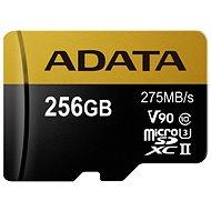 ADATA Premier ONE MicroSDXC 256 GB UHS-II U3 Class 10