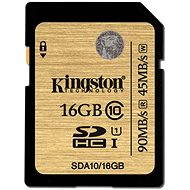 Kingston SDHC 16 GB UHS-I Class 10