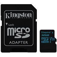 Kingston Canvas Go! MicroSDHC 32 GB UHS-I U3