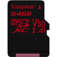 Kingston Canvas React microSDXC 64 GB A1 UHS-I V30