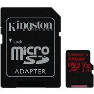 Kingston Canvas React microSDXC 256 GB A1 UHS-I V30