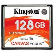 Kingston Compact Flash 128 GB Canvas Focus