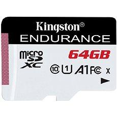 Kingston Endurance micro SDXC 64GB A1 UHS-I C10