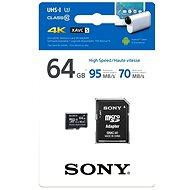 Sony MicroSDXC 64 GB Class 10