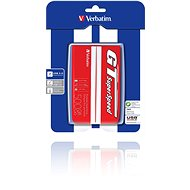 Verbatim 2,5  GT Superspeed USB HDD 500GB Red/white