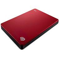 Seagate BackUp Plus Slim Portable 2 TB červený