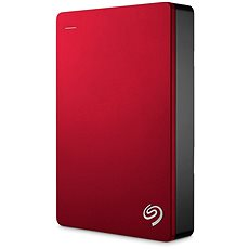 Seagate BackUp Plus Portable 4 TB červený
