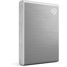 Seagate One Touch Portable SSD 2 TB, strieborný
