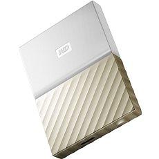 WD 2.5 My Passport Ultra Metal 3 TB bielo/zlatý