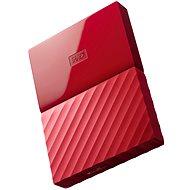 WD 2,5 My Passport 1 TB červený