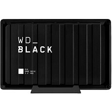 WD BLACK D10 Game drive 8TB, čierny