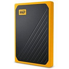 WD My Passport GO SSD 2TB žltý