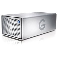 G technology G-Raid 8TB, Strieborný