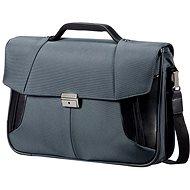 Samsonite XBR Briefcase 2 Gussets 15,6 sivá