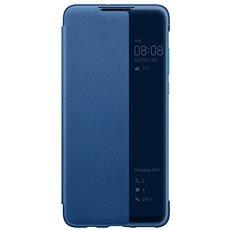 Huawei Original S-View Puzdro Blue na P30 Lite