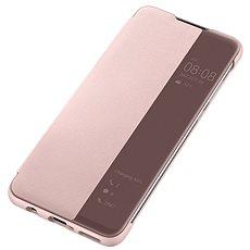 Huawei Original S-View Puzdro Pink na P30 Lite