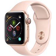 Apple Watch Series 4 40mm Zlatý hliník s pieskovo ružovým športovým remienkom