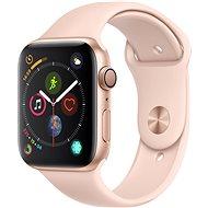Apple Watch Series 4 44mm Zlatý hliník s pieskovo ružovým športovým remienkom