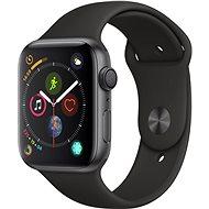 Apple Watch Series 4 44 mm Vesmírne čierny hliník s čiernym športovým remienkom