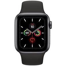 Apple Watch Series 5 40 mm Vesmírne sivý hliník s čiernym športovým remienkom