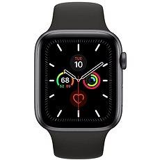 Apple Watch Series 5 44 mm Vesmírne sivý hliník s čiernym remienkom - ROZBALENÉ