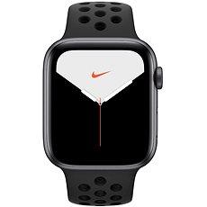 Apple Watch Nike Series 5 44 mm Vesmírne sivý hliník s antracitovým/čiernym športovým remienkom Nike