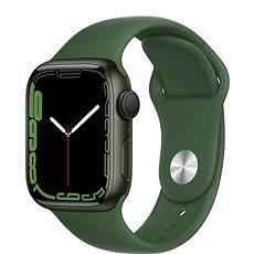 Apple Watch Series 7 41 mm Zelený hliník s listovo zeleným športovým remienkom
