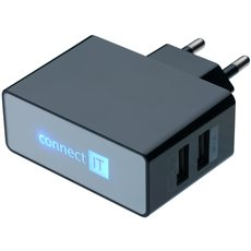 CONNECT IT CI-153 Dual Charger 230 V