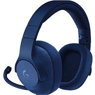 Logitech G433 Surround Sound Gaming Headset modrý