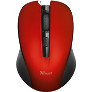 Trust Mydo Silent Click Wireless Mouse – red