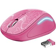 Trust Yvi FX Wireless Mouse – pink