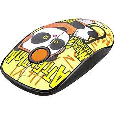 TRUST Sketch Wireless Silent Click Mouse – panda