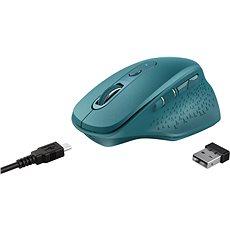 Trust Ozaa Rechargeable Wireless Mouse, modrá