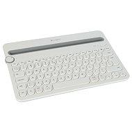 Logitech Bluetooth Multi-Device Keyboard K480 biela