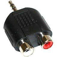 Audio 3.5 mm JACK --> 2x cinch