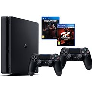PlayStation 4 1TB Slim   Gran Turismo Šport   Uncharted Lost Legacy