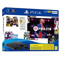PlayStation 4 Slim 500 GB   FIFA 21
